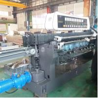 China High Efficiency Glass Straight Line Beveling Machine Double Glazing Equipment,Straight-Line Glass Beveling Machine on sale
