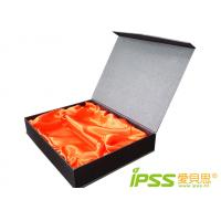 Buy cheap Rigid Corrugated Decorated Gift Boxes With Mounting Cloth For Strap product