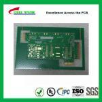 Aeronautics Printed Circuit Board 8L FR4 Immersion Gold + Hard Gold Quick Turn