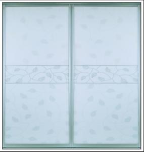 Buy cheap CY-ZG2302A Glass Closet Sliding Doors, Interior Sliding Glass Wardrobe Doors For Kitchen, Bathroom Factory product