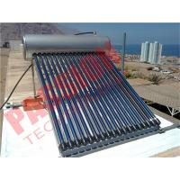 Buy cheap Household Heat Pipe Solar Water Heater 200 Liter High Density Insulation product
