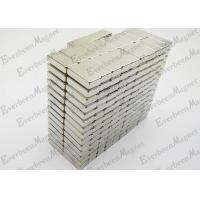 Buy cheap Rectangular Permanent Neodymium Magnets N35 Grade Rugular For Sensor Motors product