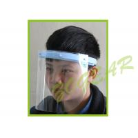 China Anti Fog Transparent Face Shield , Optically Clear Dust Mask no Distortion wholesale
