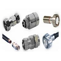 Buy cheap High Frequency Silver N Type RF Connector For Feeder Line Cable product