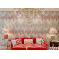 Buy cheap Retro Washable Waterproof PVC Wallpaper For Walls TV Background , Droplight Pattern product