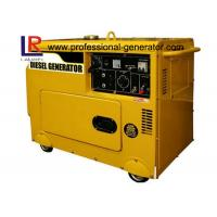 China Single Phase Small 5.5kVA Silent Diesel Generator Low fuel consumption on sale