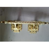 Quality Standard Size Coffin Hardware , Antique Bronze Color Decoration Coffin Handles for sale