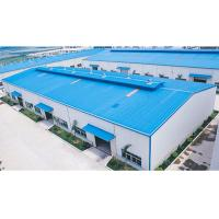 China Q235B / Q355B Prefab Steel Buildings Construction Steel Structure Factory Buildings on sale