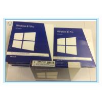 China 32 / 64 Bits Windows 8.1 Retail Version DVD Professional Windows Pro Retail on sale