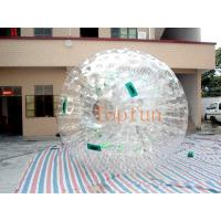 Transparent Inflatable Toy-Big Soccer Ball With Durable Plato PVC / TPU