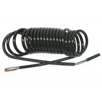 Buy cheap Coiled Power Cord  , Curly Electric Cable For Truck Trailer Signal Transmission product