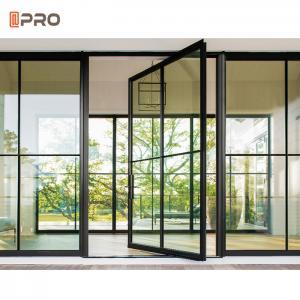 Buy cheap Modern Exterior Entry Swing Open T5 Aluminum Pivot Doors product