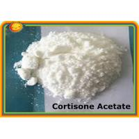 Buy cheap Cortisone Acetate CAS 50-04-4 Prohormone Supplements MF C23H30O6 product