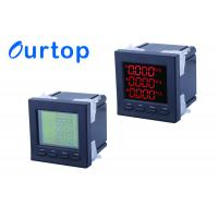 China 80~270V Multifunction Digital Panel Meter With Programmable Measurement on sale
