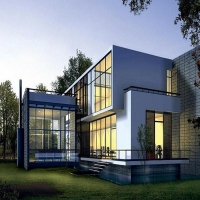 Buy cheap Unitized Glass Curtain Walls System Waterproof Exterior Aluminium Frame Structural Design product