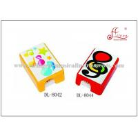 Buy cheap Multi - Color Music Related Gifts Square Pencil Sharpener With Safe Plastic Material product
