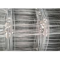 Buy cheap Galvanized Cattle Wire Fence Hinge Joint For Livestock , 0.8-2m Width product