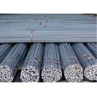Quality AISI, ASTM HRB 400 Steel Rebar 6mm / Iron Rods For Construction for sale