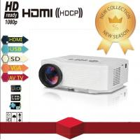 Quality 500 Lumens LED Full HD Video Home Theater Mini Projector Support HDMI for sale