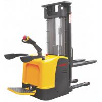 Buy cheap Narrow Aisle Warehouse Electric Stacker Truck , Ride On Pallet Stacker 2.5m - 5.6m Lift Height product