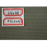 Plain Weave Smooth Surface Stainless Steel Mesh , Filter Mesh Stainless Steel Wire Screens