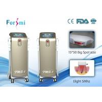 Buy cheap Professional laser hair removal machine 3000W Power 2 Handles HR(hair removal)SR(skin rejuvenation) product