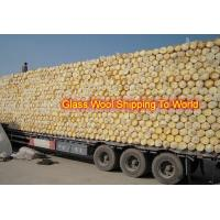 Buy cheap Glass wool without foil density 10kg/m3 x50mm x1.2m x 10m glasswool blanket product
