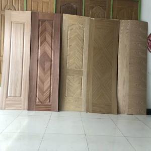 Buy cheap Wood Grain MDF Door Skin , Interior Door Skins With Different Designs product