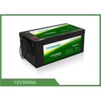 Buy cheap High Security Bluetooth Lithium Battery Rechargeable 12V300Ah Lifepo4 Material product