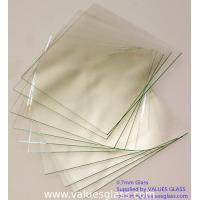 Buy cheap Alkaline Resistant Super Thin Glass Sheet Clear Color Easy Installation product