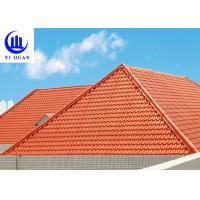 Versatile Building Materials Light Weight Spanish Synthetic Resin Roof Tile