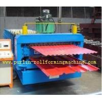 Buy cheap Automatic Color Steel Cold Roll Forming Machine Sheet Metal Rolling Former for South Africa Customer product