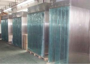 Buy cheap SS 304 Sheets Dispensing Booth With PVC Curtain Door HEPA Filter product