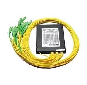 9 / 125 um SMF -電気通信ネットワーク、CATVシステムのための28eタイプPLCの光ファイバーのディバイダー