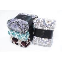 Thick Polyester Flannel Plush Blanket High Grade Offset Printing For Cold Season