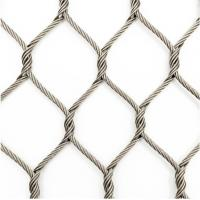 Buy cheap Wear Resisting Stainless Steel Woven Mesh Nonflammable For Animal Enclosure product