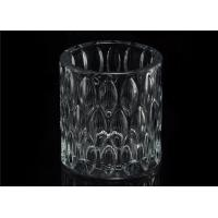 Buy cheap Home decoration Wedding Decorative Glass Candle Jars Glass Candle Containers product