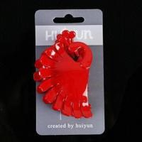Buy cheap Hair Claw, Made of Plastic and Metal Spring, Customized Specifications and Designs are Accepted product