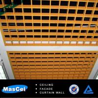 Buy cheap 600*600mm Aluminum open ceiling tiles/metal tiles made in china product