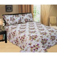 Buy cheap Full / Queen Size Quilt Bedding Sets 100 Percents Cotton With Classic Ticking Printing product