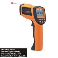 China Data Store/Recall Function, Handheld Digital Laser Infrared Thermometer IR1650, Data Hold function on sale