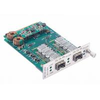 Buy cheap 8.5 to 11.7Gbps Multi-rate Fiber Converter Card SFP+ to SFP+ Transponder with Loopback and 3R product
