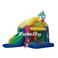 China Commercial 0.55mm PVC Tarpaulin (18oz) Inflatable Water Park Trampoline Bouncy House on sale