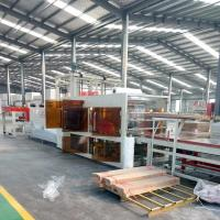 Buy cheap Cement And MgO Board Production Line Partition Fireproof Wall Panel Making product