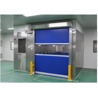Buy cheap SUS 304 Clean Room Equipments Cargo Air Shower Tunnel With Fast Rolling Door product