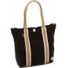 Buy cheap 35*37*11CM Black Cotton 5oz 24oz Canvas Tote Bag from wholesalers