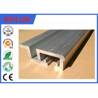 Buy cheap 75 Mm Width Exterior Door Aluminum Threshold Replacement With 12 Mm Channel product