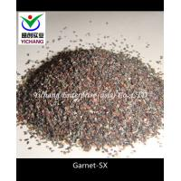Buy cheap Garnet sand  as sandblasting mineral for wet and dry sandblasting applications product