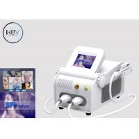 Quality Sapphire Crystal IPL SHR SSR Beauty Salon Equipment For Pigment Removal for sale