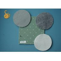 Buy cheap 4 metres Non woven Felt polyester anti slip fabric with Phthalate (DOP) Free PVC Dots product